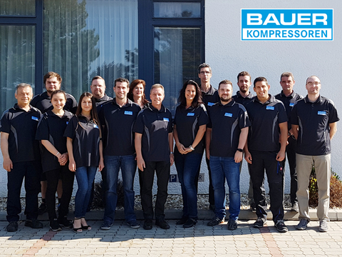 The team of the BAUER subsidiary in Austria