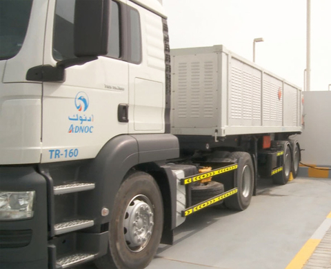 Trailer at ADNOC (Abu Dhabi National Oil Company)