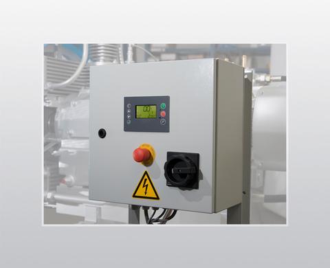 CMC compressor control