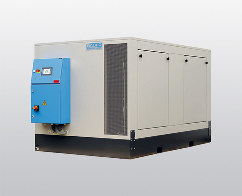 BAUER I 25 / I 28 Super-Silent (sound-insulated), high-pressure compressor