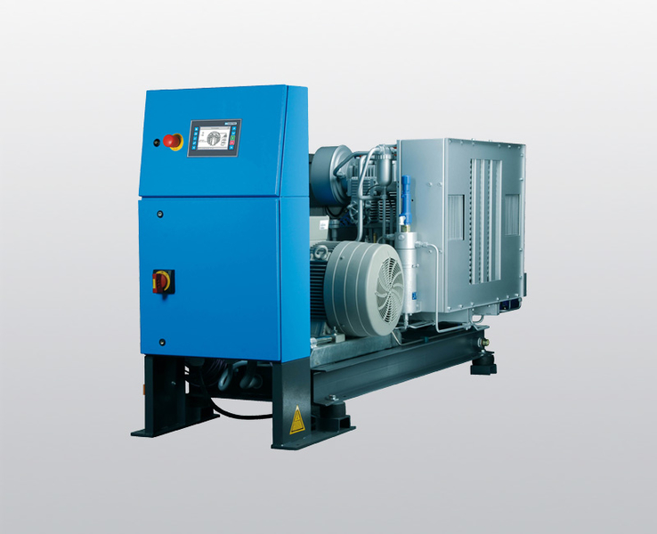 compresor. compresor de aire respirable kap 23 abierto