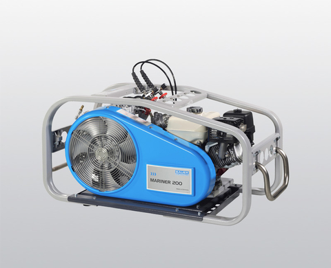 BAUER MARINER 200 high-pressure compressor with petrol engine