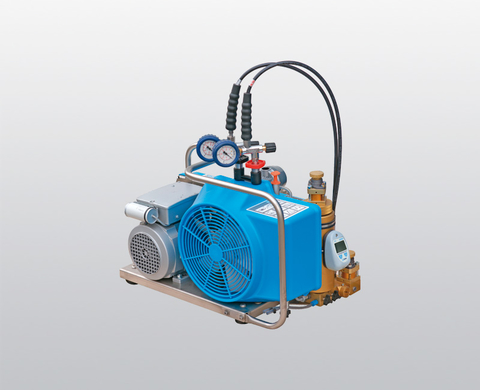 BAUER OCEANUS breathing air compressor with electric motor