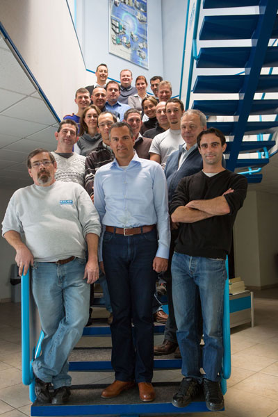 The team of the BAUER subsidiary in France