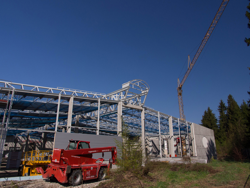 BAUER's new small-systems production facility starts to take shape