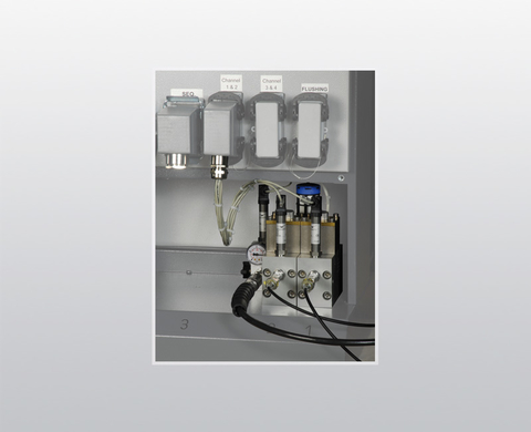 Control module with proportional valve