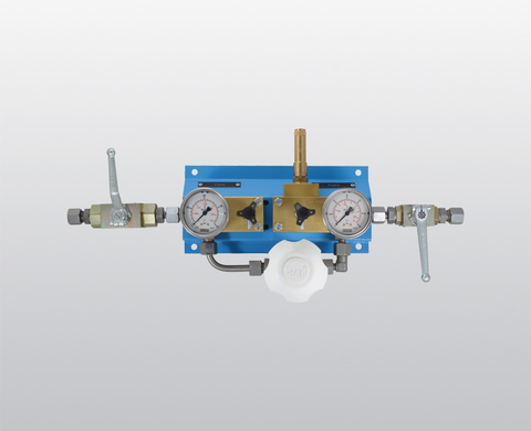 High-pressure reducing unit