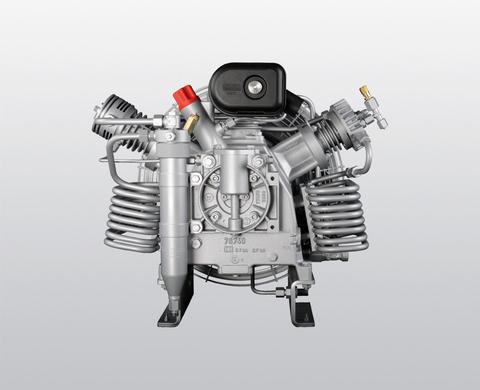IK 120 3-stage compressor block