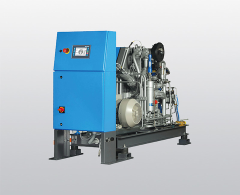 BAUER I 22 high-pressure compressor
