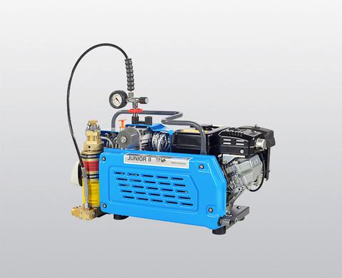 BAUER JUNIOR II-B high-pressure compressor, rear view