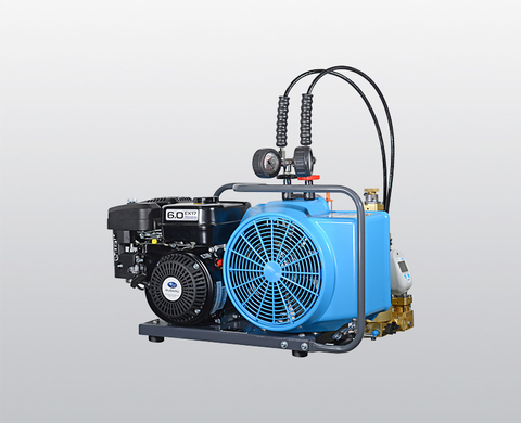 BAUER JUNIOR II breathing air compressor with petrol engine