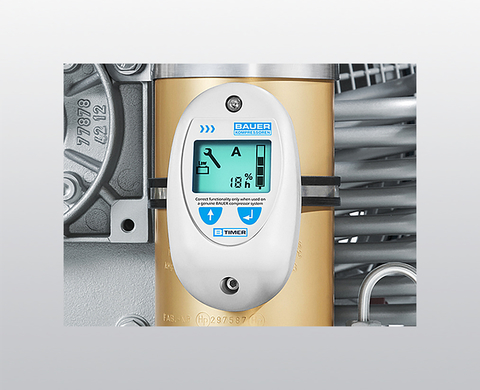 B-TIMER filter monitoring unit