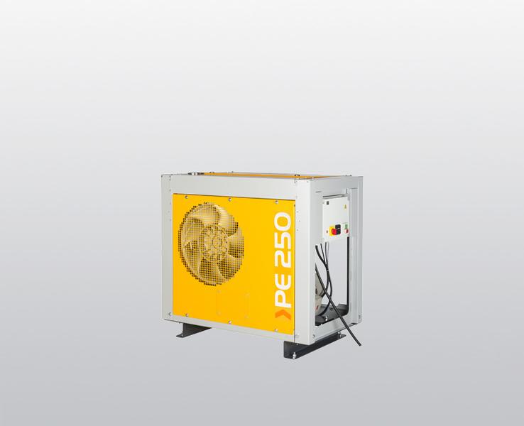PE-HE, 250 – 300 l/min