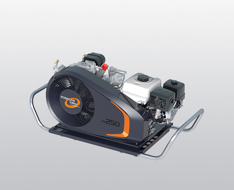 BAUER PE-TB breathing air compressor from front
