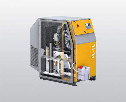 BAUER PE-VE Super-Silent (sound-insulated) high-pressure compressor