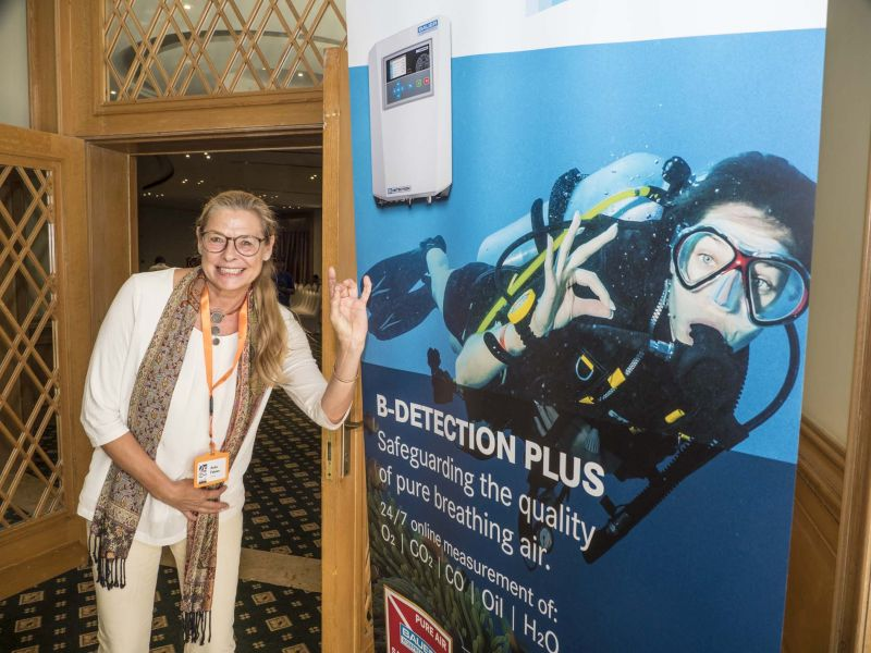 Co-organiser Dr Anke Fabian is delighted at the success of the event